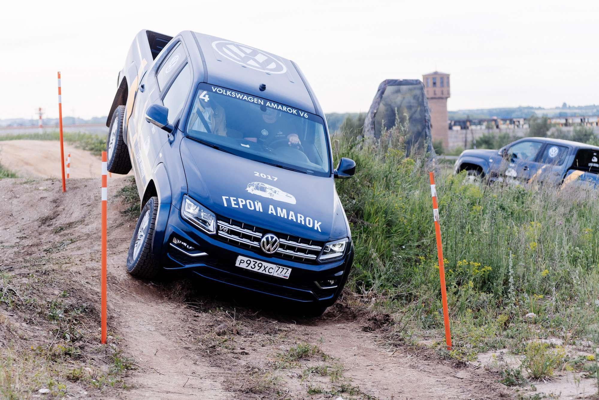 Volkswagen Amarok V6TDI— царь горы— фото 776563