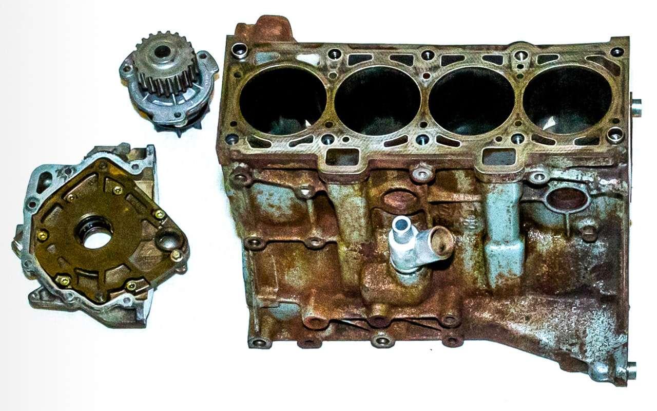 Lada Granta изпарка ЗР— последнее «прости»— фото 788936