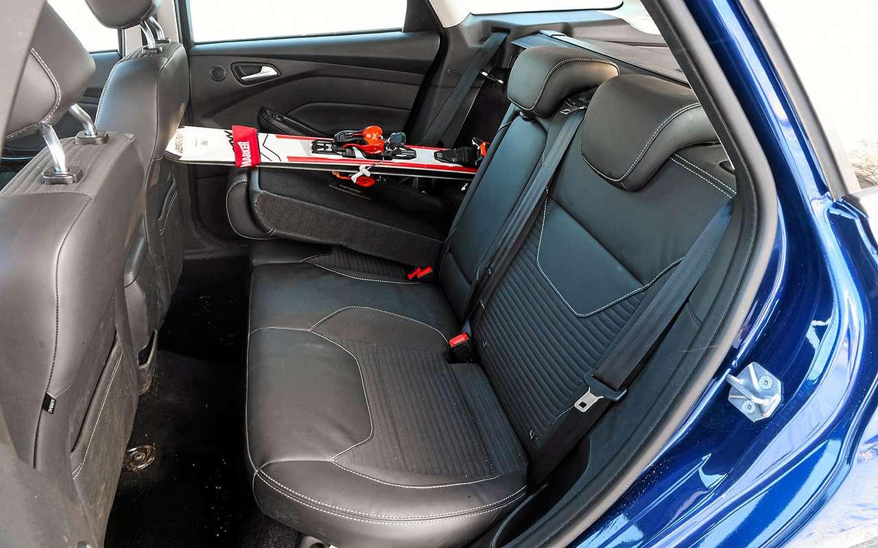 Большой тест универсалов: Ford против Kia— фото 959190