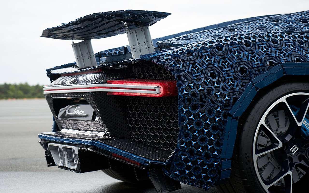 Bugatti Chiron изLego— успейте посмотреть вПарке Горького— фото 987702