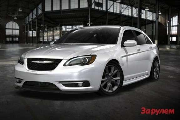 Chrysler 200 Super Sside-front view
