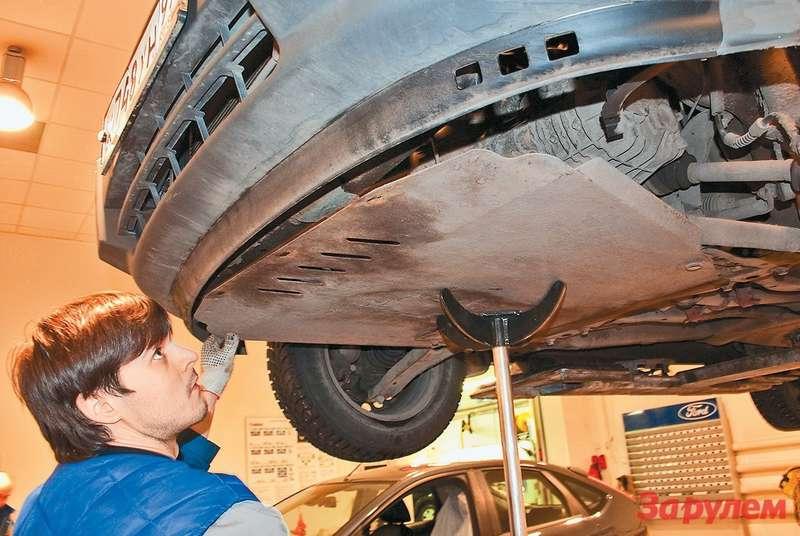 Защита силового агрегата будет весьма полезной при эксплуатации передне- приводного малотоннажника нароссийских дорогах, особенно, врегионах