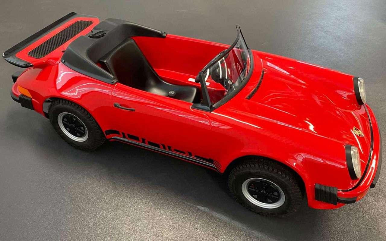Мини-Porsche— за1,3млн руб., носдвигателем Honda— фото 1230225