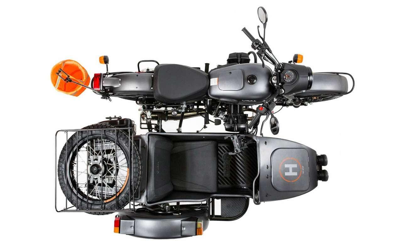 Урал Air: первый мотоцикл сдроном— фото 916713
