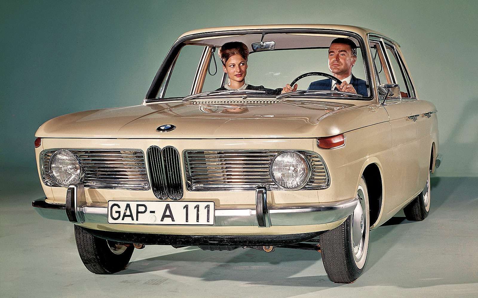 BMW1500, 1962г.
