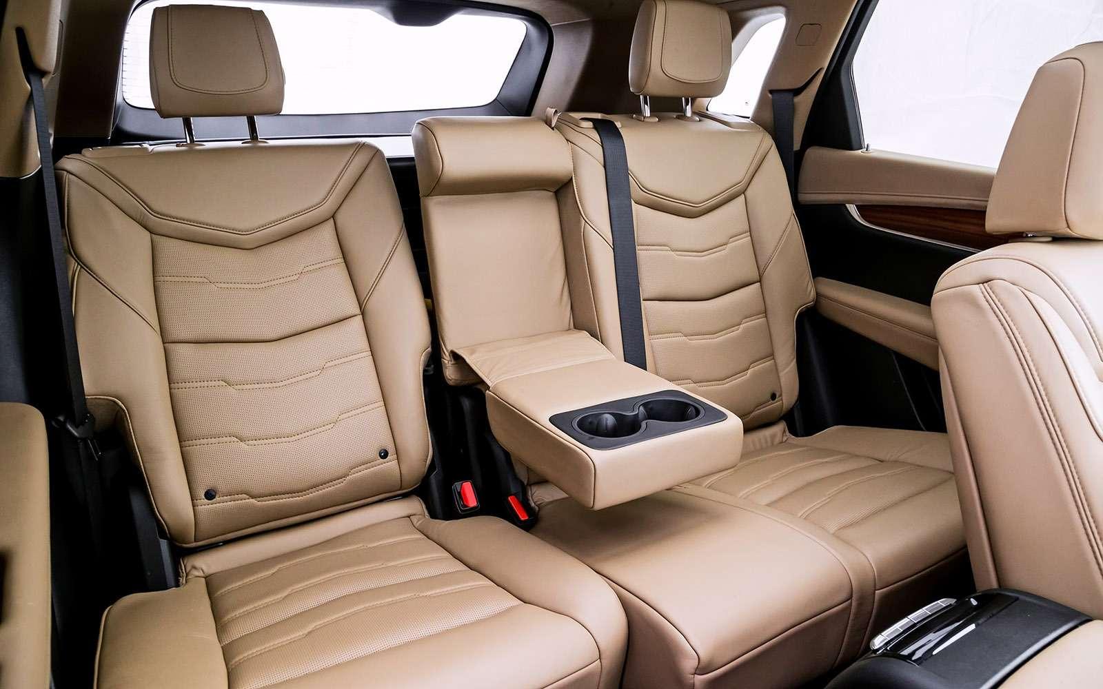 Тест премиум-кроссоверов: Lexus RX350, Cadillac XT5и Jaguar F-Pace— фото 721805