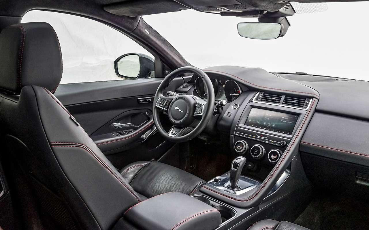 Большой тест маленьких, нодорогих кроссоверов: Volvo, Lexus, Jaguar— фото 983807