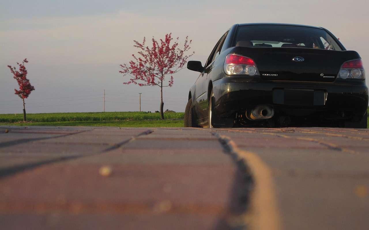 Машина дляэгоиста— зачто ялюблю Subaru Impreza— фото 950585