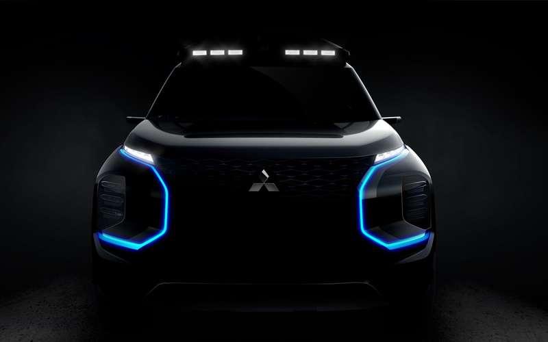 Mitsubishi покажет вЖеневе новый кроссовер
