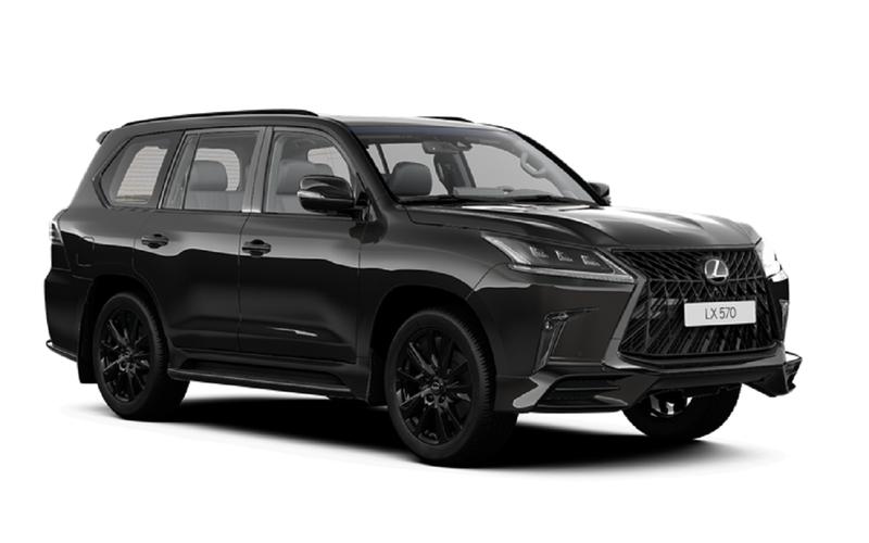 Lexus LXполучил флагманскую комплектацию Black Vision