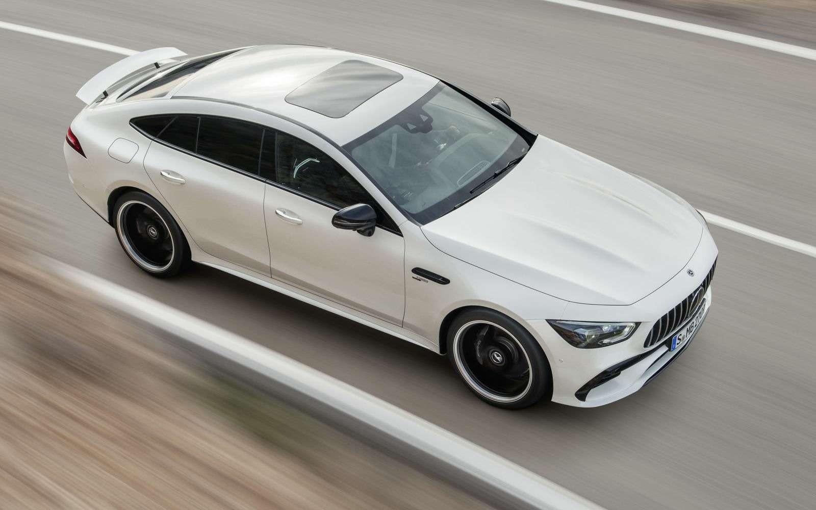 Подмена! Пятидверный Mercedes-AMG GTполучил «тележку» Е-класса— фото 851538