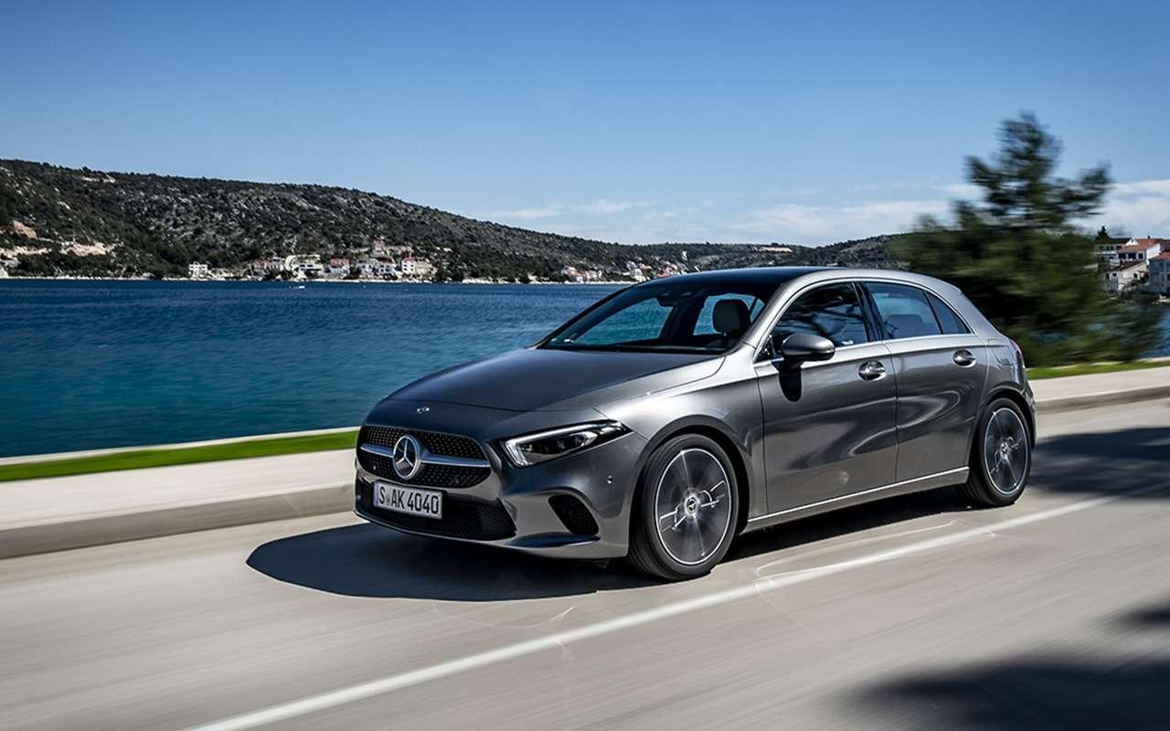Новый Mercedes-Benz A-класса— первый тест-драйв— фото 863990