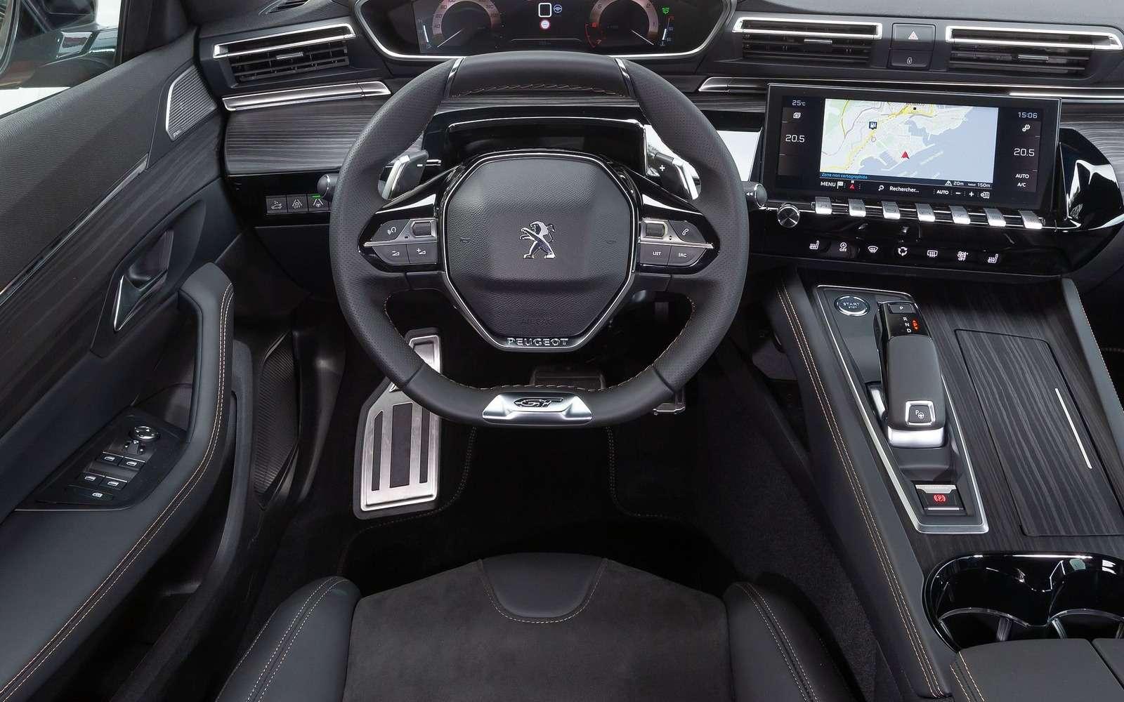Peugeot привезет седан 508в Россию. Известны все версии— фото 960721