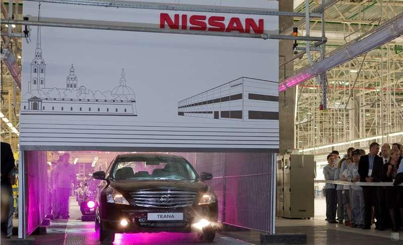 Nissan выпустил вРоссии 24,5тыс автомобилей