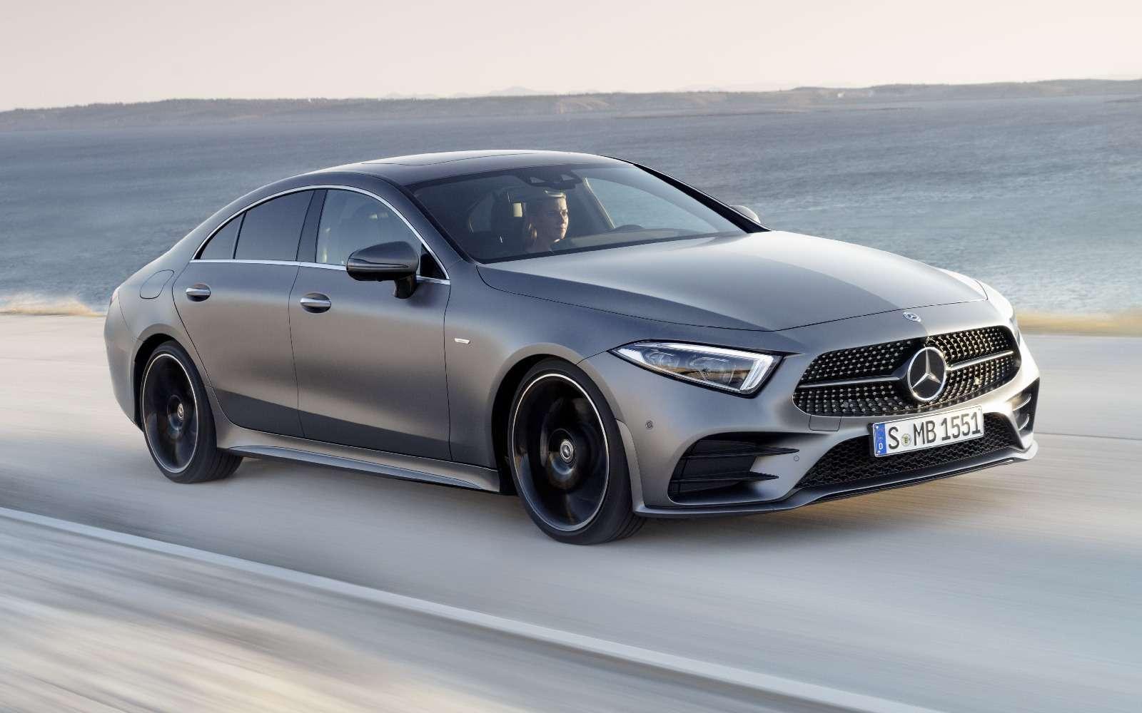 Новый Mercedes-Benz CLS: еще больше чувственности— фото 822038