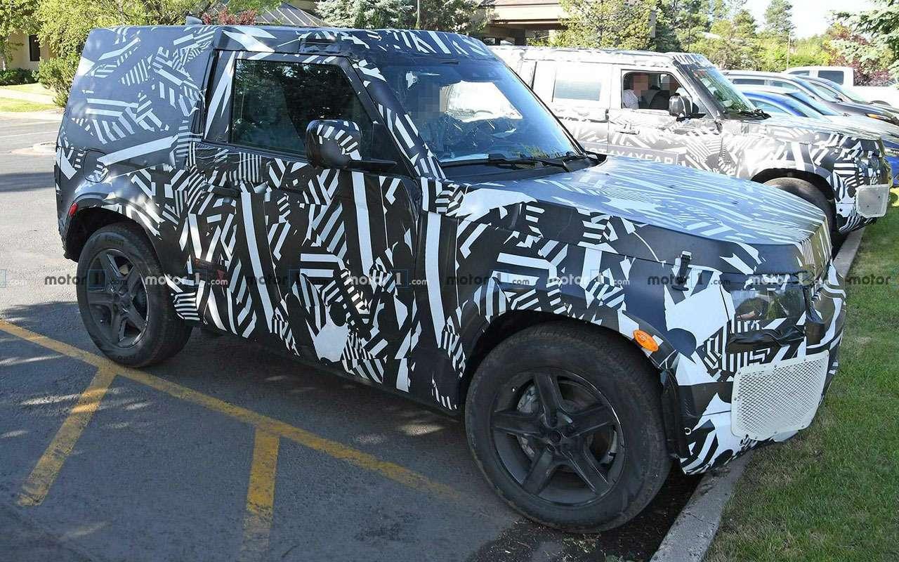Первое фото: Land Rover Defender раскрыл себя сам— фото 982372