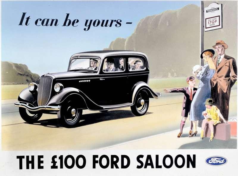 Ford Model Y— первая модель компании, разработанная длязаокеанских филиалов. расположенных вВеликобритании иГермании. ВВеликобритании онстал первым семейным автомобилем стоимостью ниже 100 фунтов стерлингов. Выпускался с1932по 1937год, сделано 175000 штук