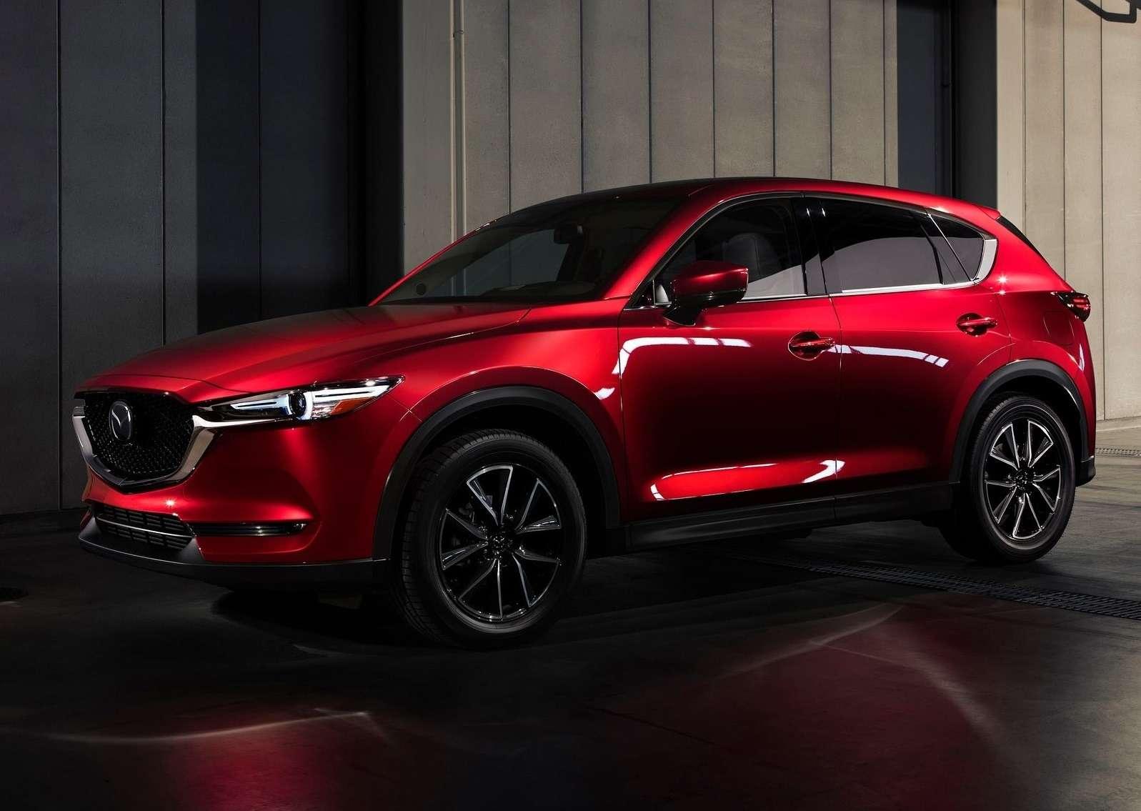 Глубокий блеск: Mazda представила новый кроссовер CX-5— фото 664418