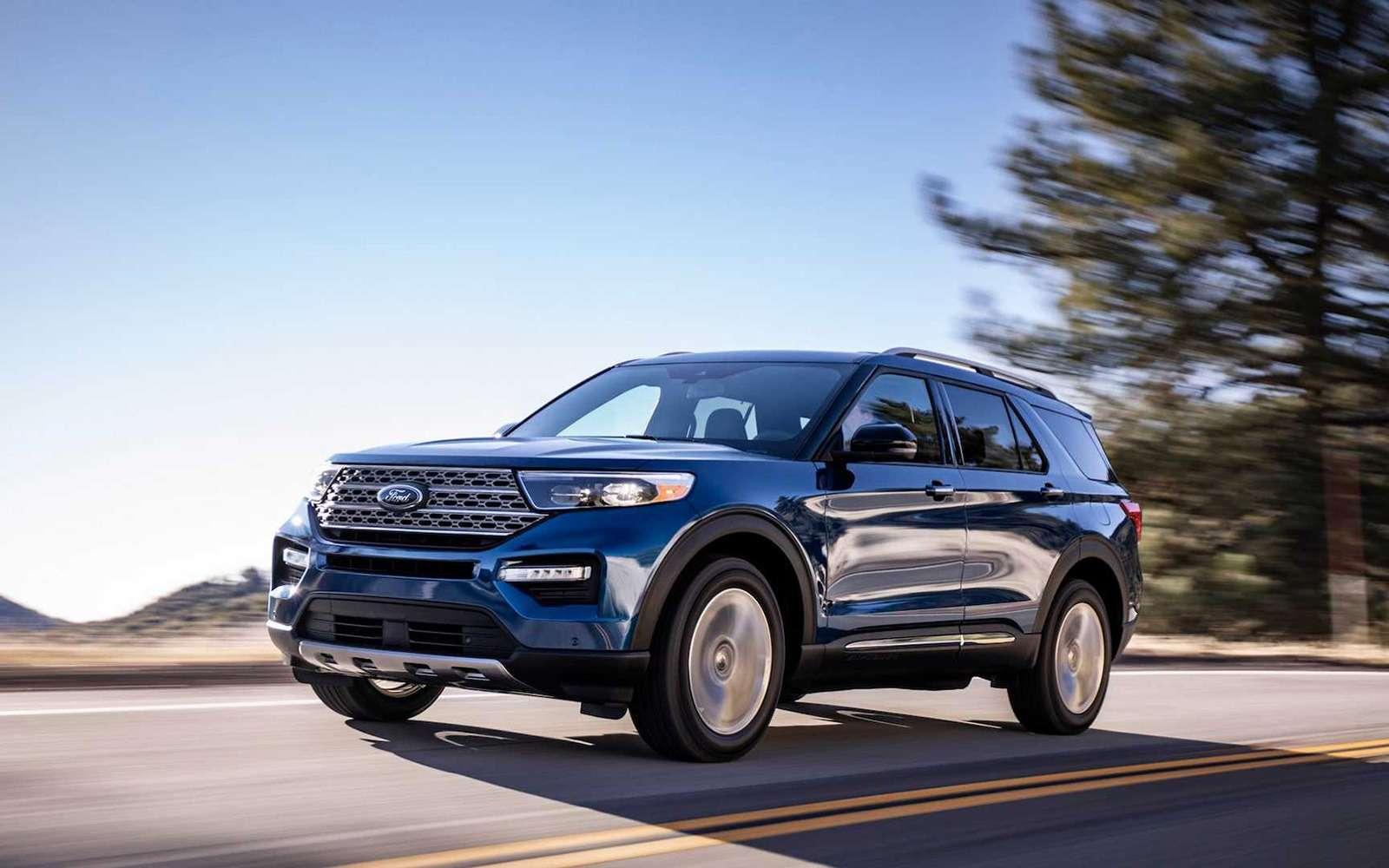 Новый Ford Explorer: разбираем его вдеталях— фото 939731