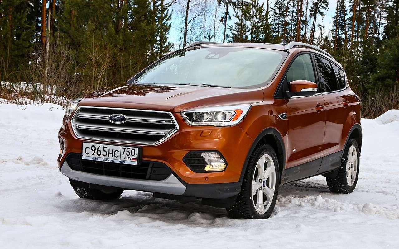 Ford Kuga изпарка ЗР: смотрим напросвет— фото 831427