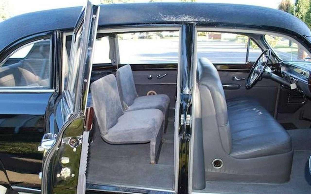 Продается первый лимузин президента США - фото 1167392