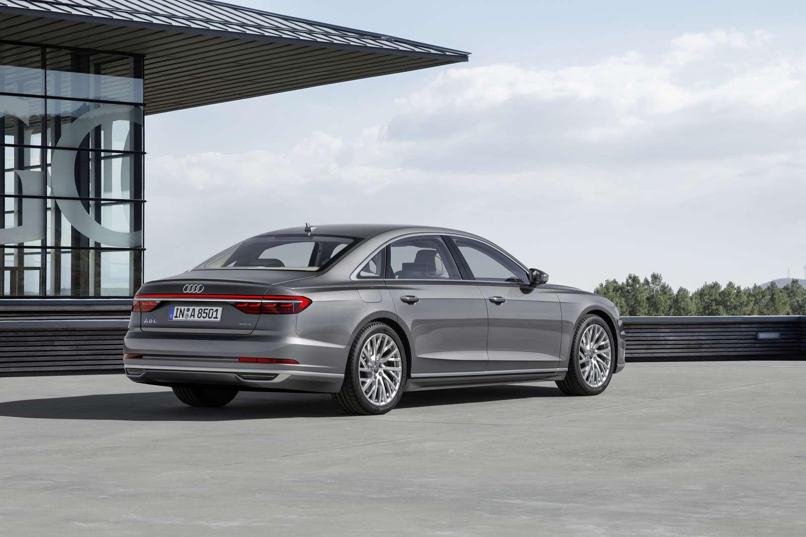 Технорывок Audi— премьера А8— фото 773533