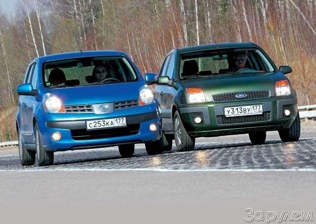 Тест-драйв Ford Fusion, Nissan Note. НОТКА ПРЕВОСХОДСТВА— фото 64999