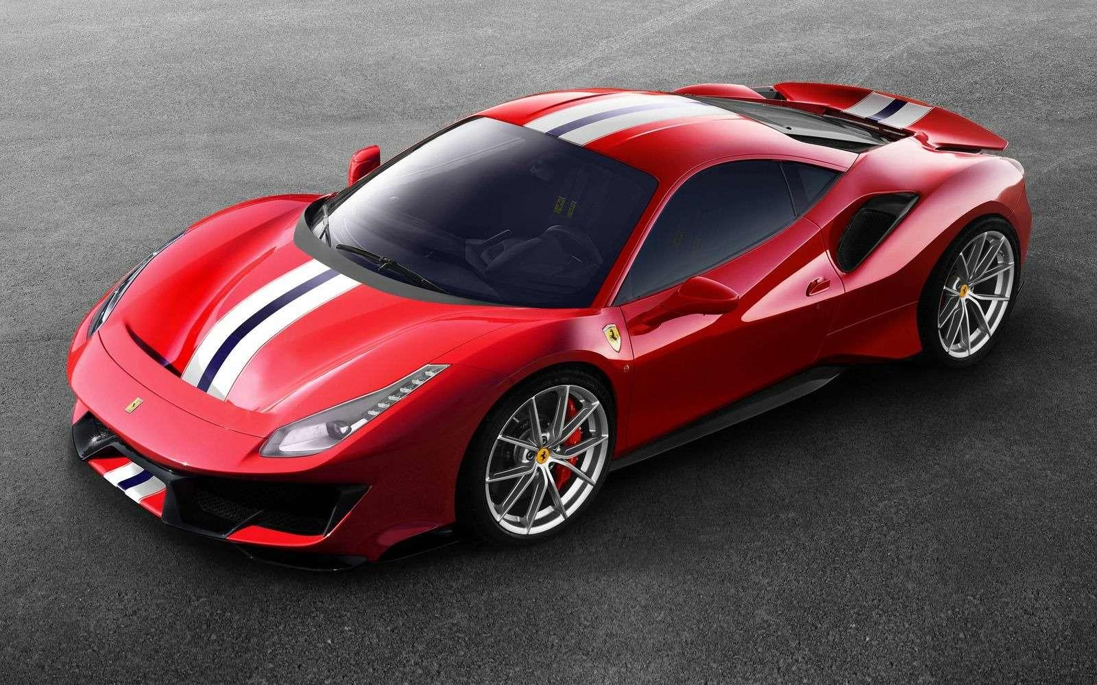 Ониназвали ееPista: Ferrari 488 получила трековую версию— фото 847223