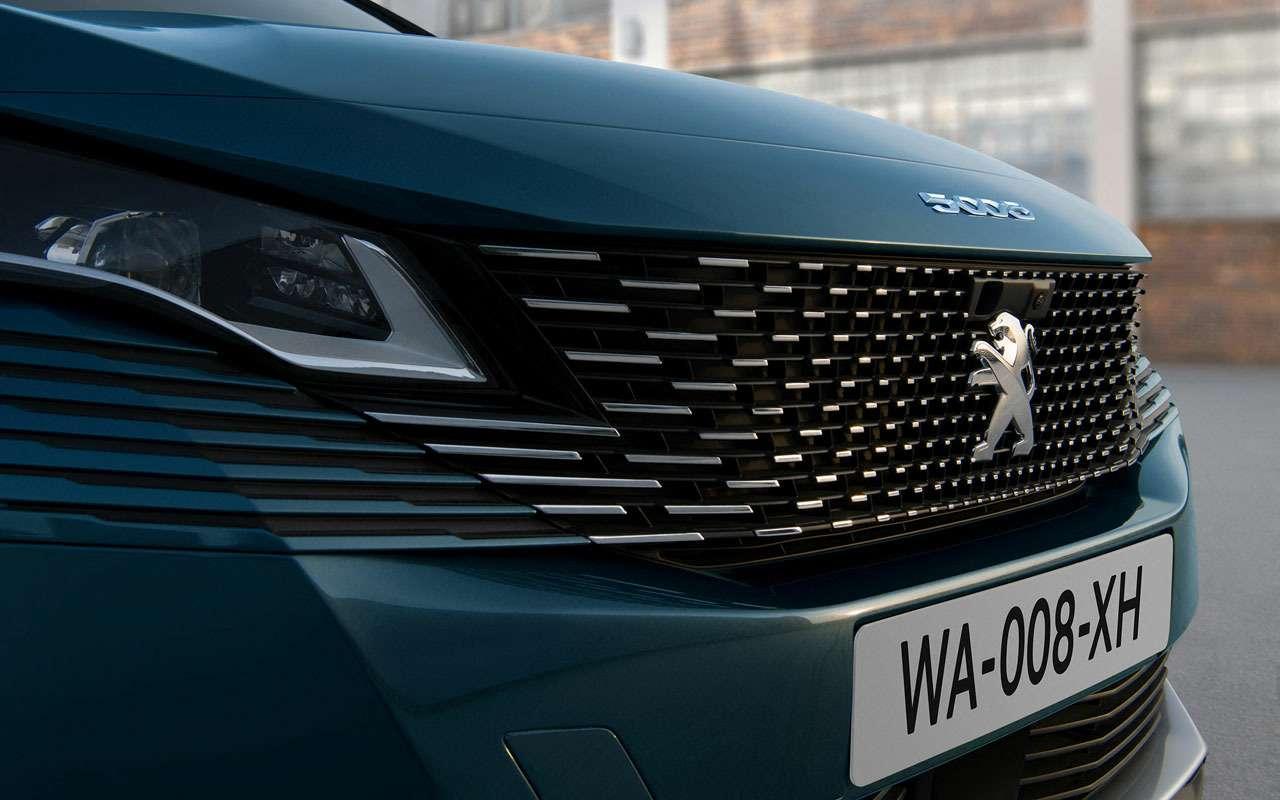 Обновленный Peugeot 5008: все изменения (небольшие)— фото 1164536