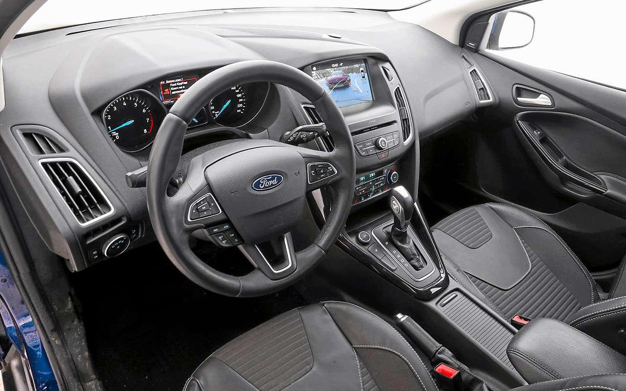 Большой тест универсалов: Ford против Kia— фото 959185