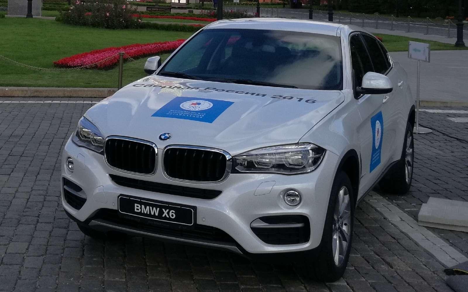 Олимпийский BMW X6выставили напродажу— фото 625257