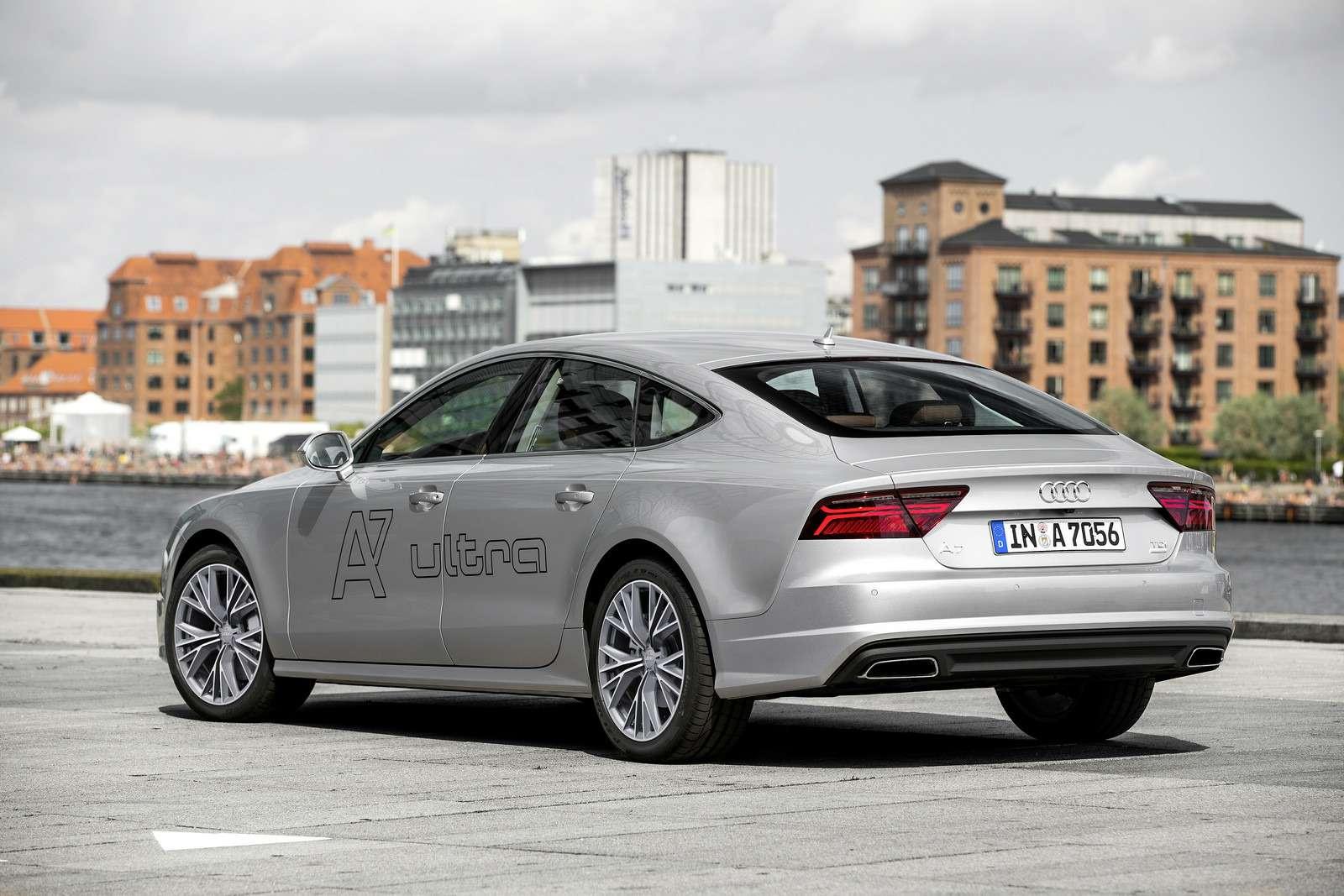 Обновленное семейство Audi A6/A7 хочет понравиться гаджетоманам— фото 579077