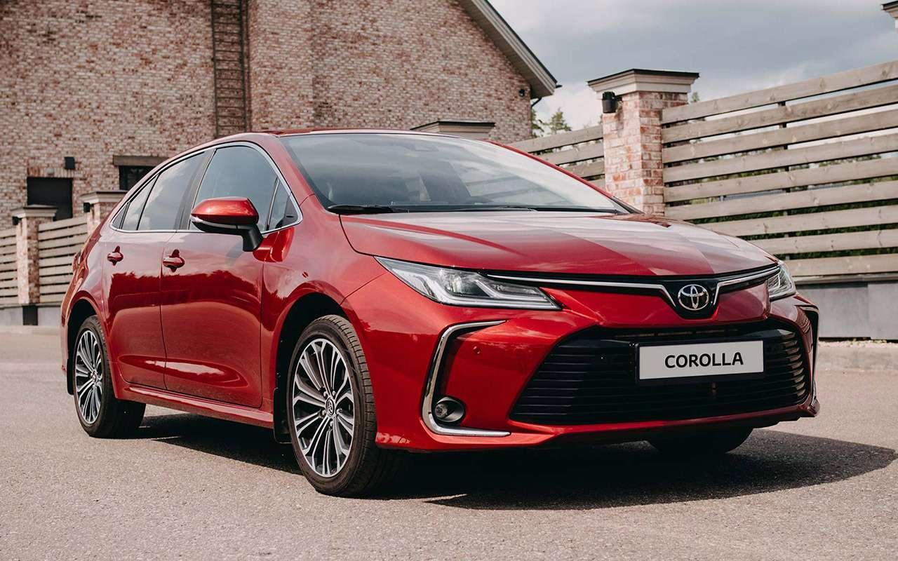 Toyota Corolla 2020: обновленные версии иновые цены— фото 1071103