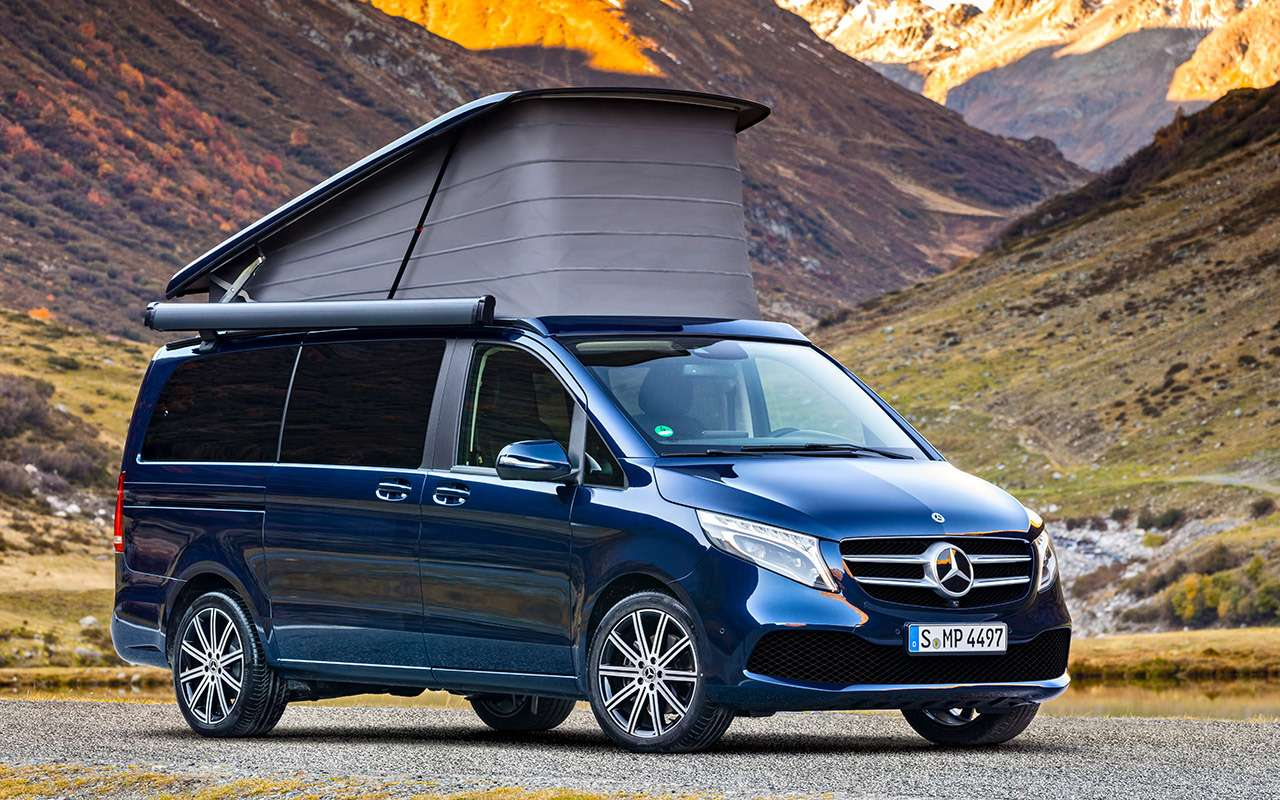 Mercedes-Benz V‑класса: изменения после рестайлинга— фото 955000