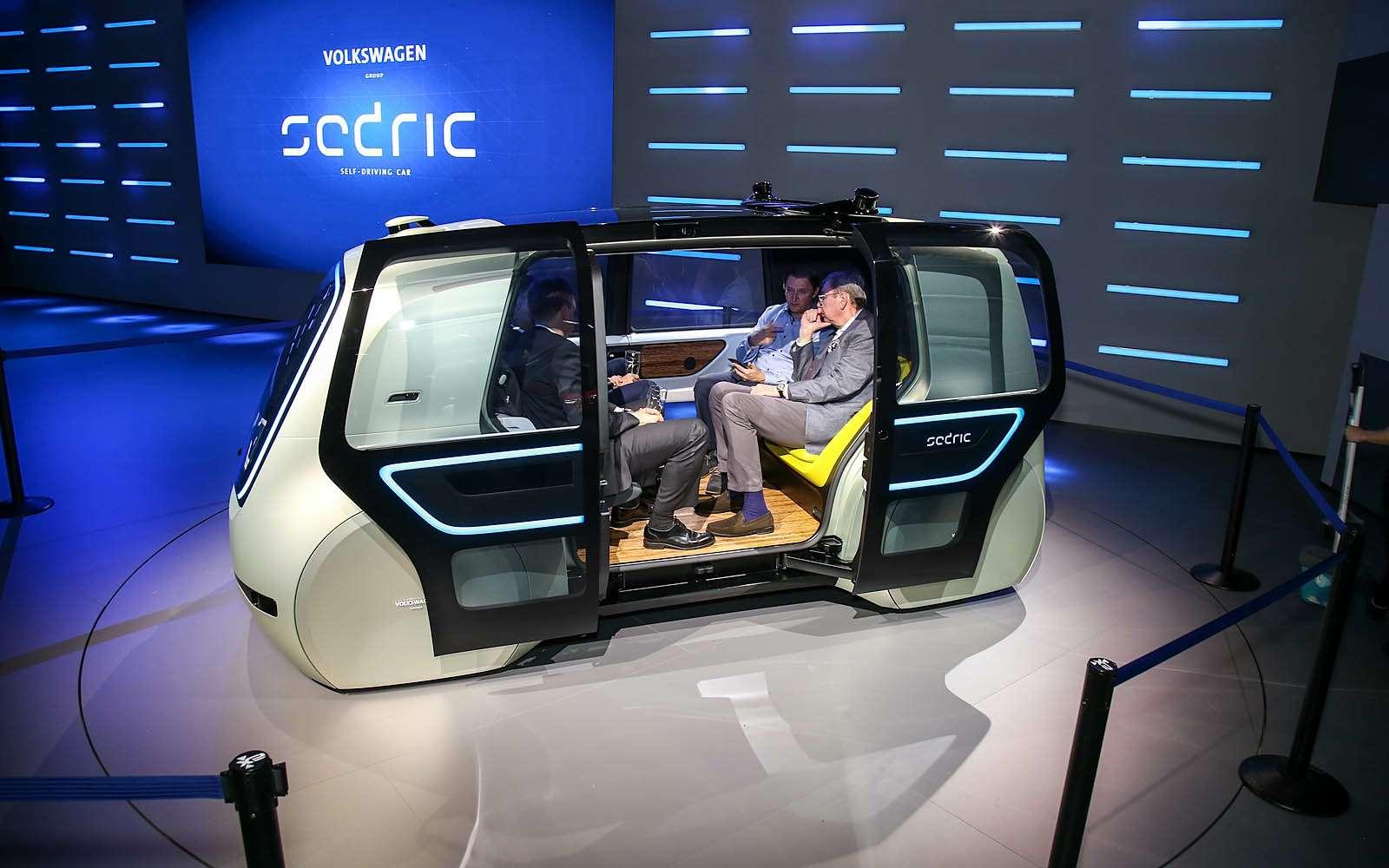 Volkswagen Sedric— германский ответ российской «Матрешке»— фото 717456