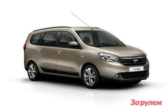 Dacia Lodgy side-front view