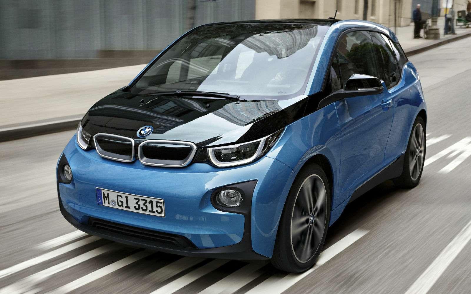 Электромобиль BMW i3приехал вРоссию подвидом гибрида— фото 694247