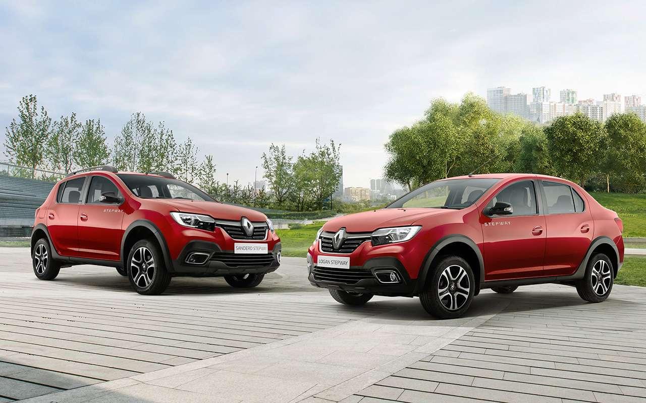 Renault Logan Stepway или Sandero Stepway: что выбрать?— фото 916700