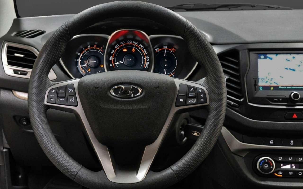 Представлена цифровая панель приборов Lada Vesta— фото 1123050