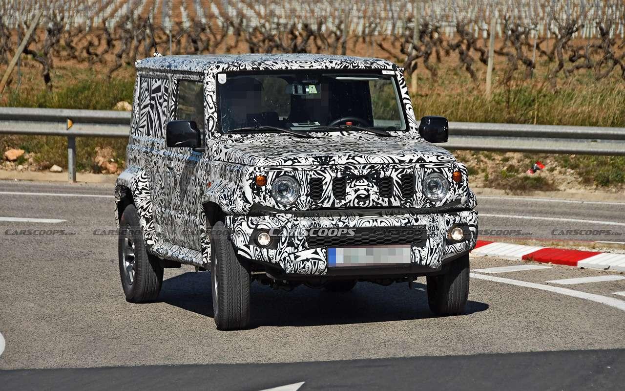 Натестах Jimny Long: пятидверка, пикап или фургон?— фото 1231635