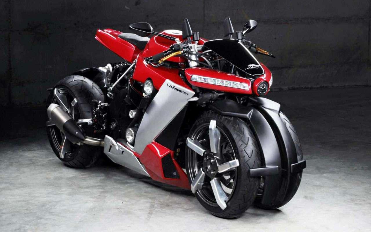 Четырехколесный мотоцикл за... 100 тысяч евро— фото 1085979