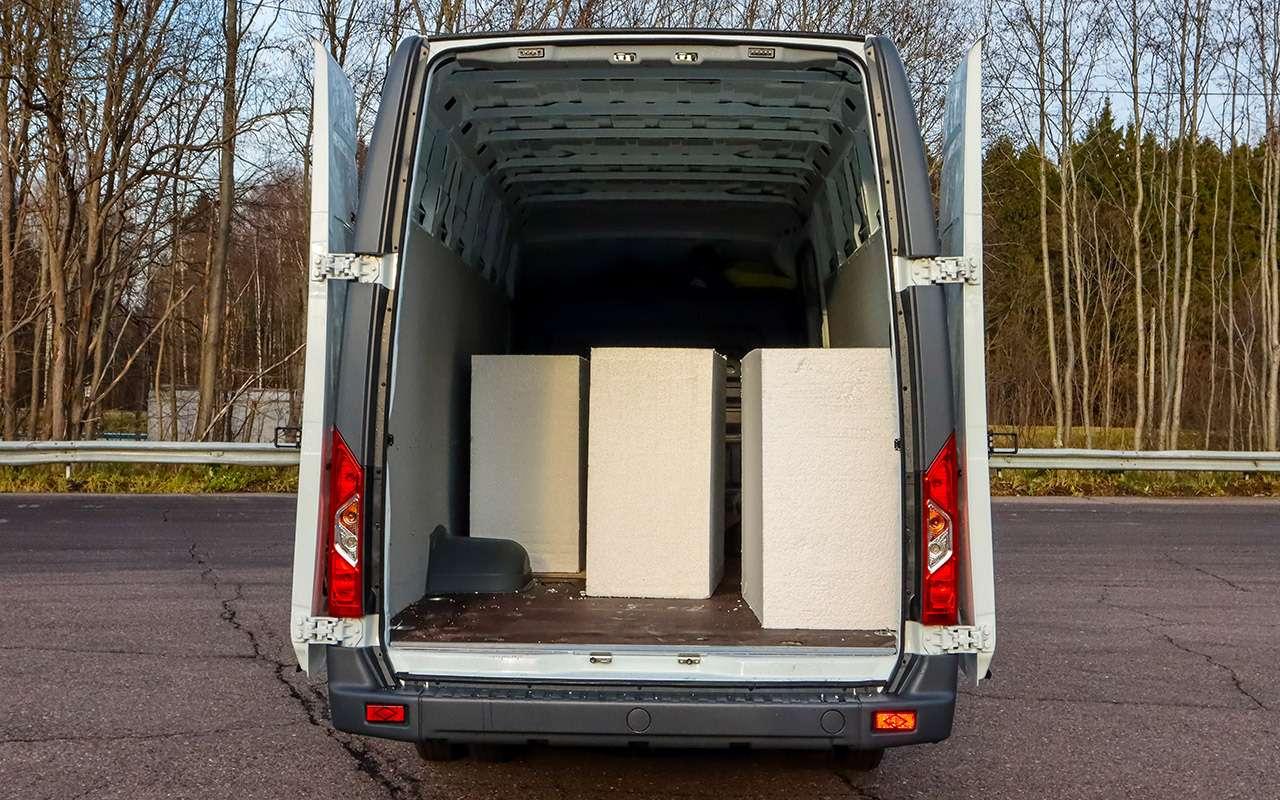 Машина длядачи идела: 5аргументов впользу фургона— фото 1247126