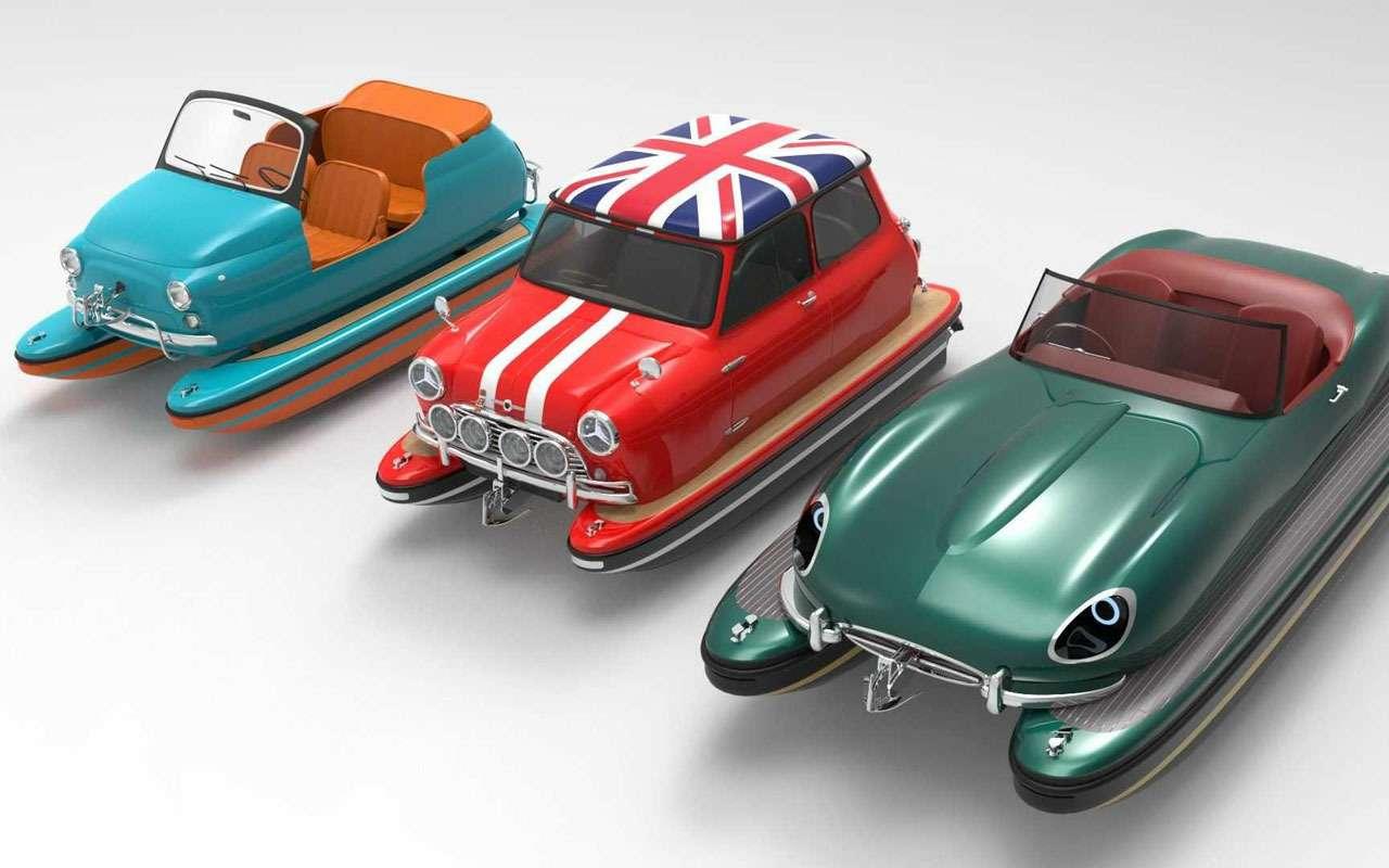 Новая идея длякатеров— ввиде автомобиля— фото 1274865