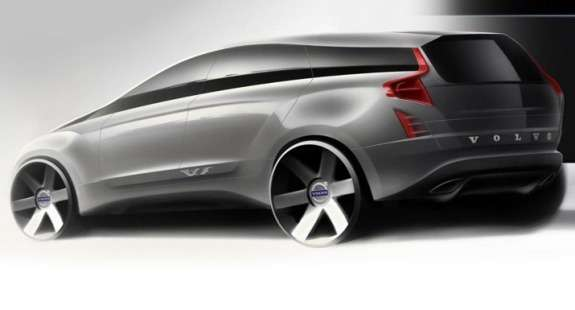 New Volvo XC90 sketch 3