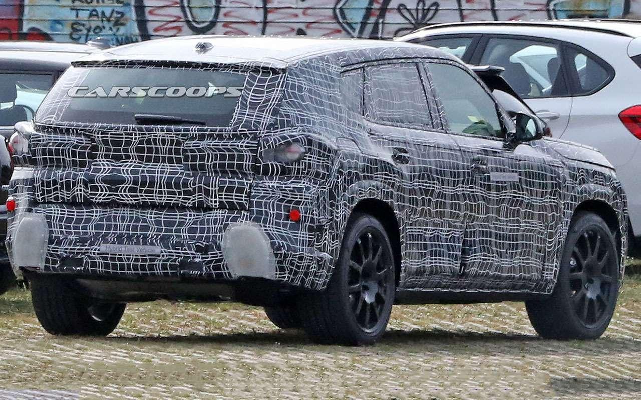 Новый BMW X8: первые кадры сиспытаний— фото 1171692