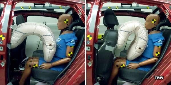 TRWсоздала подушки безопасности длязаднего сиденья