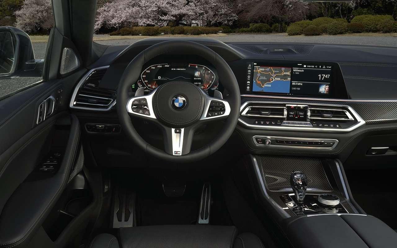 Потеря управления: вРоссии отзывают BMW X5и X6— фото 1222448