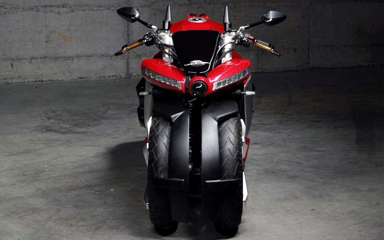Четырехколесный мотоцикл за... 100 тысяч евро— фото 1085983