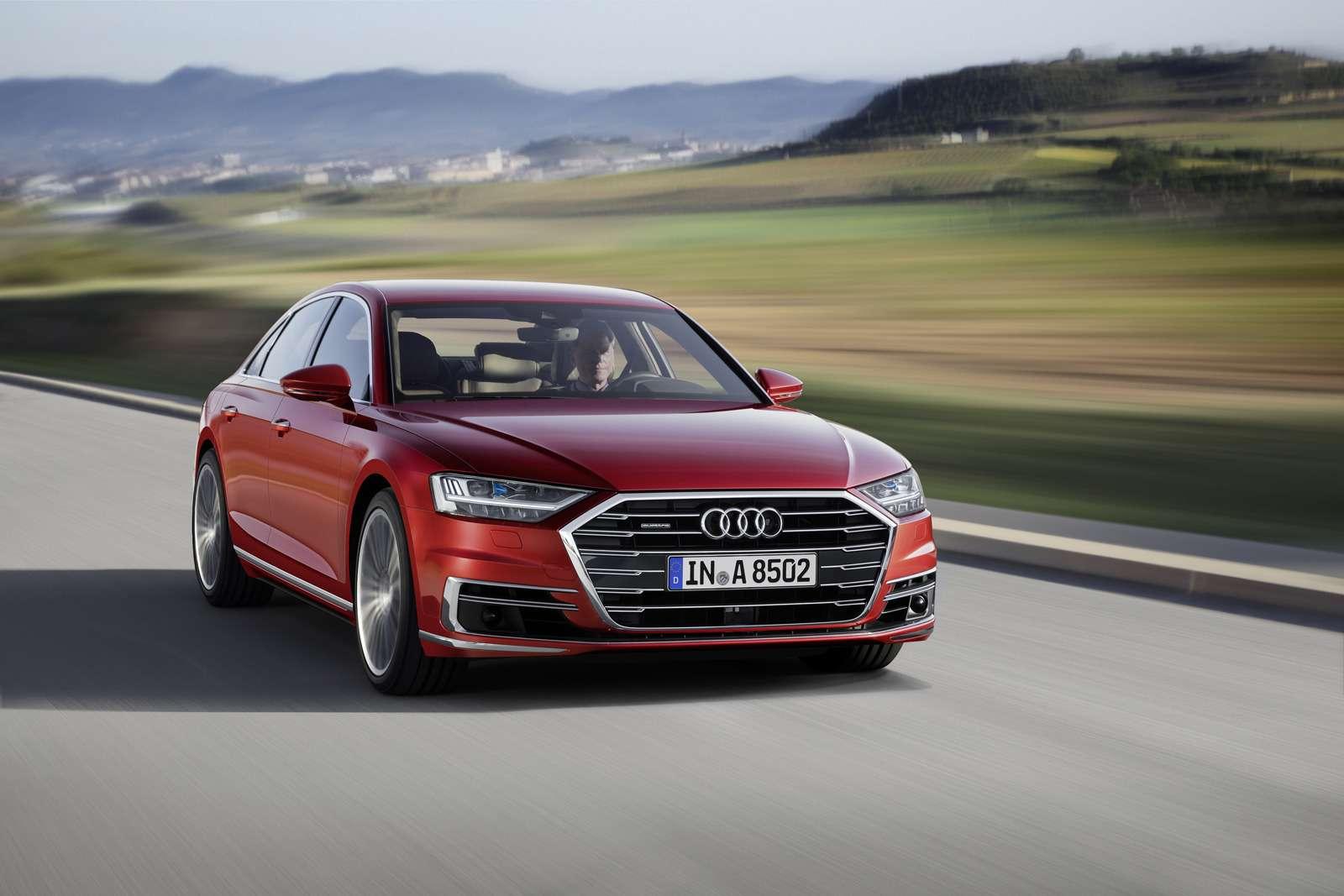 Технорывок Audi— премьера А8— фото 773525