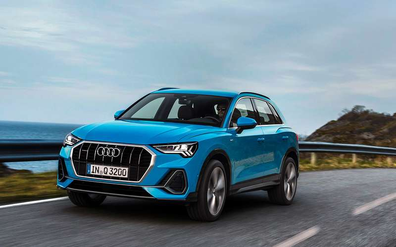 Test of the new Audi Q3 is a European build, but with